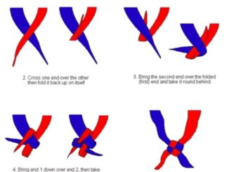 how to tie a firendship knot